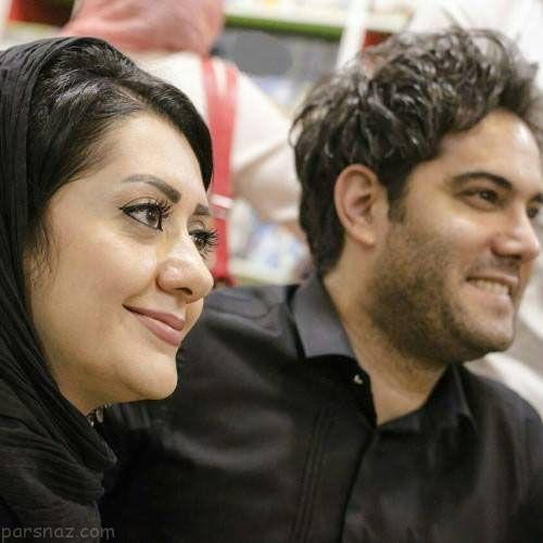 جدیدترین عکس های امیرعلی نبویان و همسرش