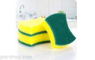 اسفنج ظرفشویی نیازی به شستشو ندارد