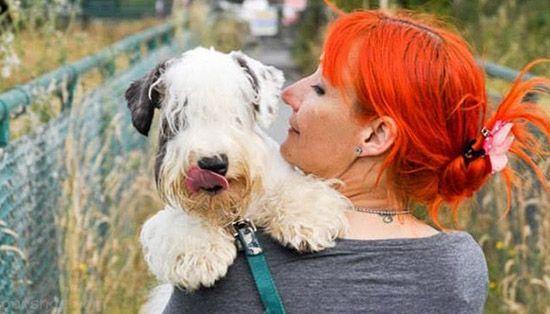 این زن به خاطر ازدواج با سگ از همسرش جدا شد