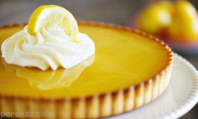 روش تهیه تارت لیمو خوشمزه و عالی