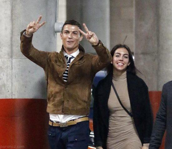 جورجینا و دوقلوهای کریس رونالدو در خانه سوپر لوکسشان