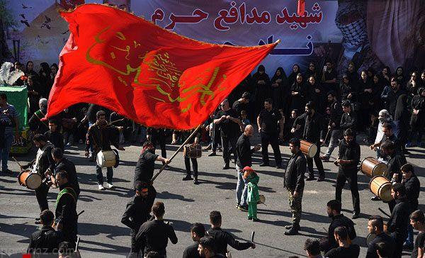 ایران در عاشورا و تاسوعا غرق در ماتم و عزاداری +عکس