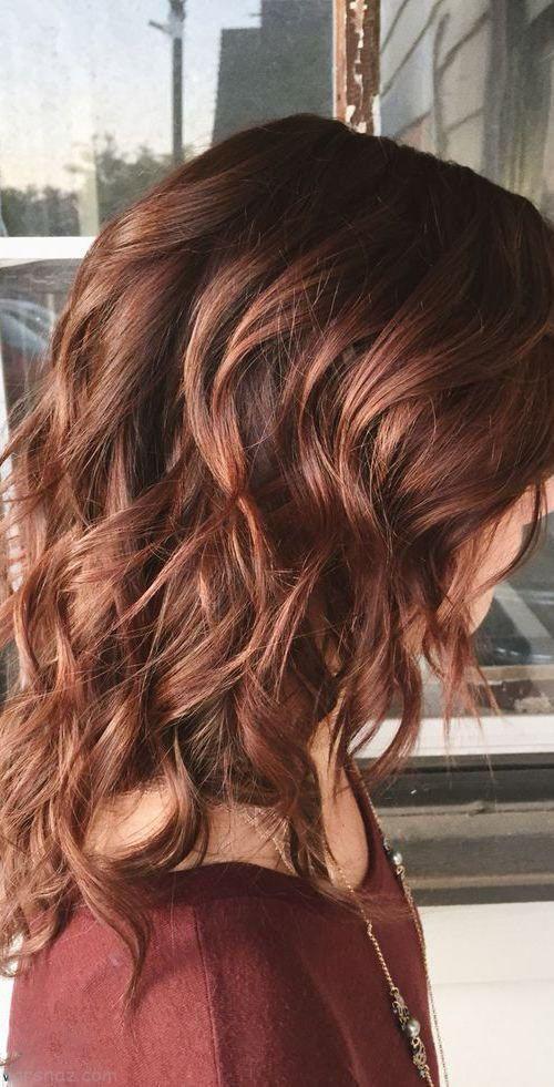مدل های جدید هایلایت مو و رنگ موی زنانه 2019