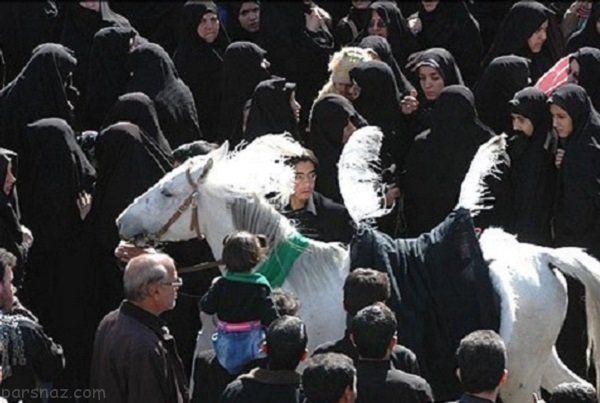 مردم آذری غرق در عزا و سوگ حسینی +عکس