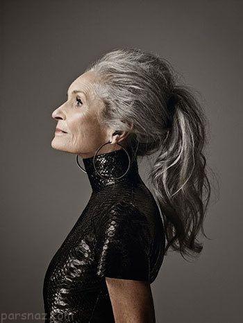 مدل های مسن اما زیبا و جذاب جهان را بشناسید