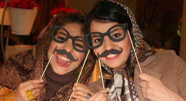 عکس های دختران و پسران در جشنواره سبیل تهران