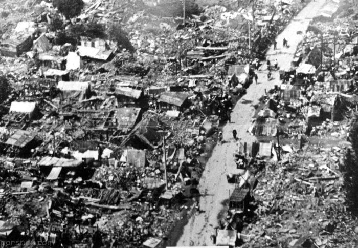 نگاهی به مهیب ترین زلزله های جهان در طول تاریخ
