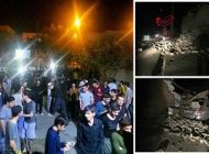 زلزله شدید کرمانشاه و نیمی از ایران را لرزاند +عکس ها