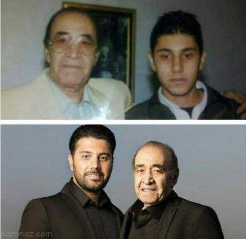 عکس های دیدنی بازیگران و ستاره ها در کنار والدینشان