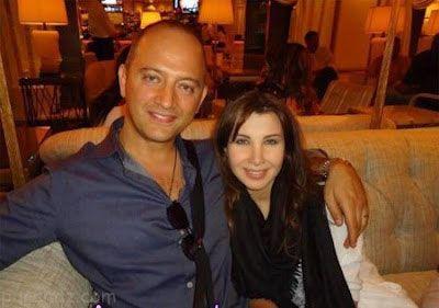 جدیدترین تصاویر نانسی عجرم به همراه همسرش