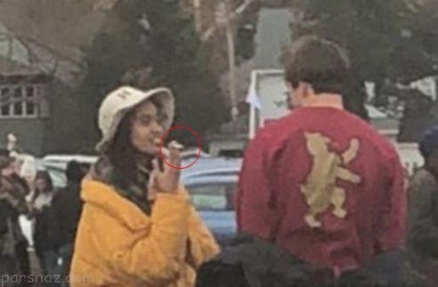 سیگار کشیدن دختر اوباما و واکنش ایوانکا ترامپ +عکس