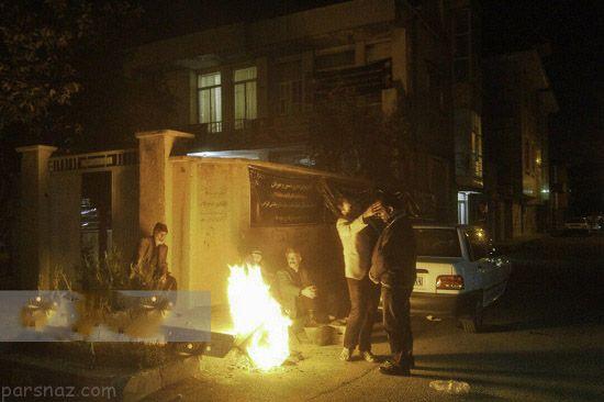 تصاویر مردم و مناطق ایران در پی زلزله شب گذشته