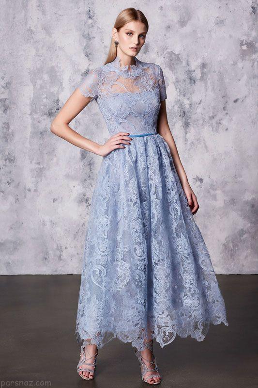 بهترین مدل لباس مجلسی برند Marchesa Notte