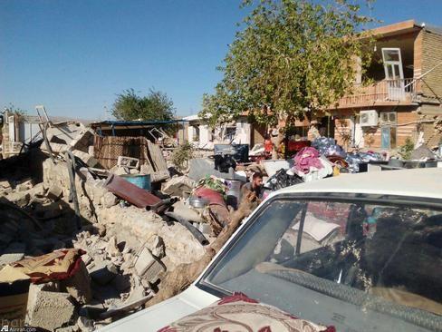 تخریب روستاهای سرپل ذهاب و عدم رسیدن کمک به آن ها