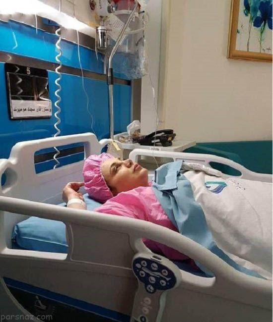 بهنوش بختیاری در بیمارستان بستری شد +عکس