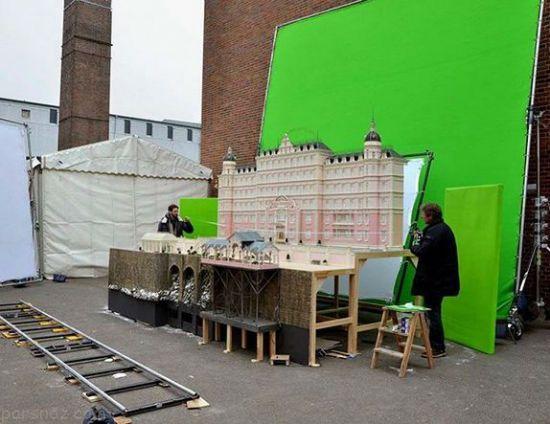 تصاویر جالب از پشت صحنه فیلم های مشهور هالیوودی