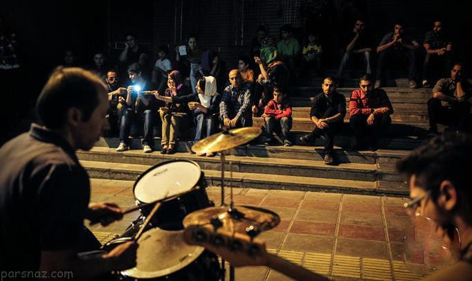 تصاویر کنسرت های خیابانی جالب و دیدنی در تهران