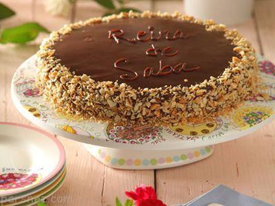 آموزش درست کردن کیک ملکه صبا خوشمزه