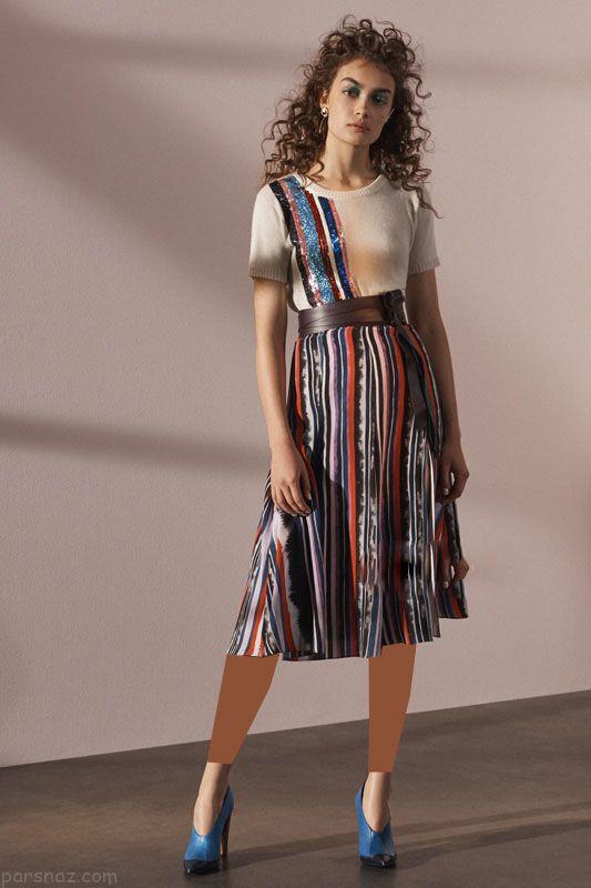 مدل لباس مجلسی زنانه برند Prabal Gurung