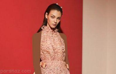 مدل های لباس مجلسی زمستانی برند Fendi