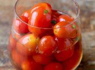 آموزش تهیه ترشی گوجه گیلاسی خوشمزه