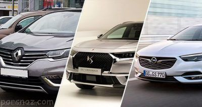 معرفی جدیدترین خودروهای بازار ایران زمستان 96