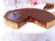 طرز تهیه تارت موز و شکلات خوشمزه و عالی