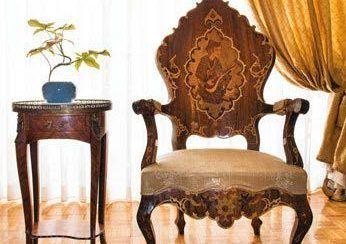 دکوراسیون خانه ای با اصالت ایرانی در سعادت آباد