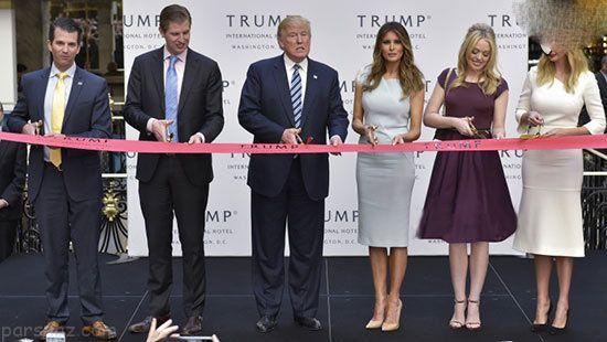 همه چیز درباره خاندان دونالد ترامپ در آمریکا +عکس