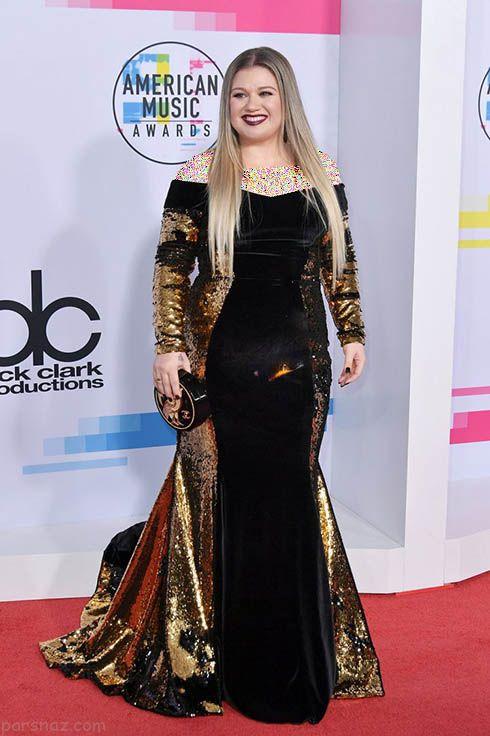 مدل لباس ستاره ها در مراسم Music Awards 2017