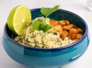 طرز تهیه غذای رژیمی برنج گل کلم خوشمزه