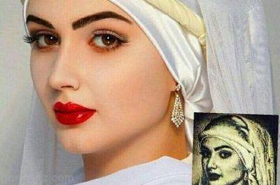 عکس زلیخا زیباترین زن مصر باستان بازسازی شد