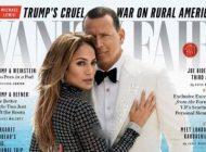 عکس های جذاب جنیفر لوپز و نامزدش در مجله ونیتی فر