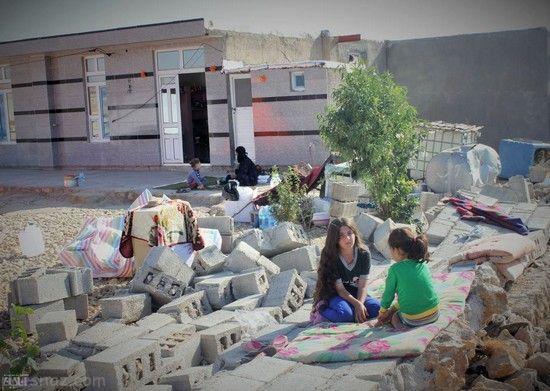 اوضاع سرپل ذهاب یک هفته پس از زلزله مرگبار