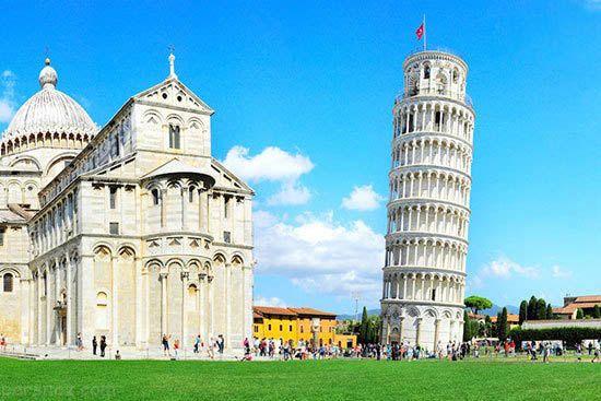 معروف ترین برج های دیدنی دنیا را بشناسید