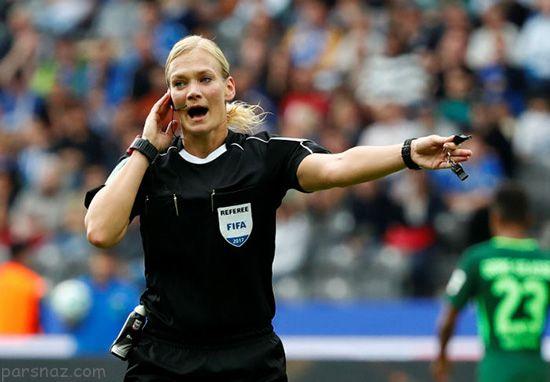 با اولین داور زن فوتبال مردان آشنا شوید +عکس