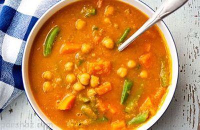 طرز تهیه سوپ نخود غذای خوشمزه پاییزی