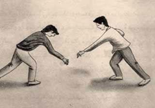 آموزش بازی محلی و سنتی قدیم در قلعه سر رزین کا