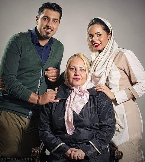 جدیدترین عکس های سلبریتی های ایرانی در کنار همسر
