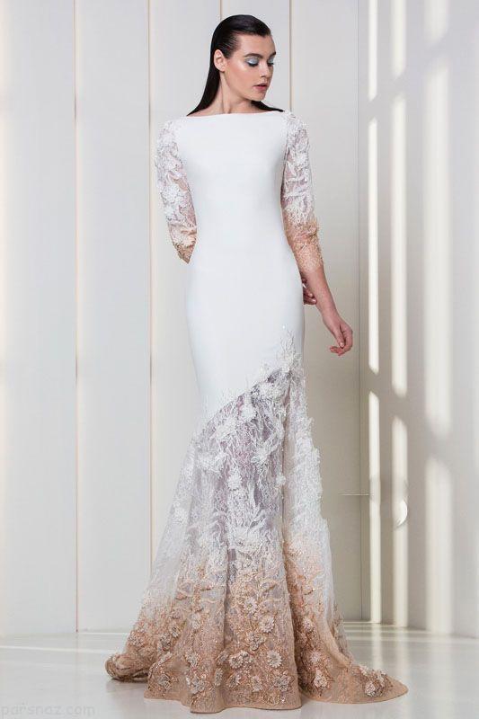 لباس مجلسی زنانه شیک برند tony word