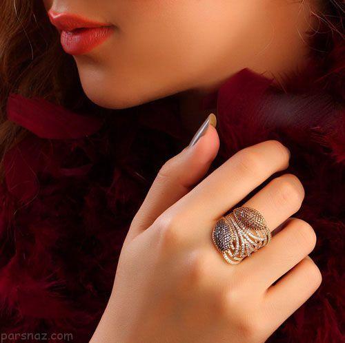 مدل های جواهرات از گالری ایرانی آریان