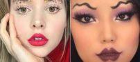 زشت ترین مدل های زیبایی دختران در سال 2017