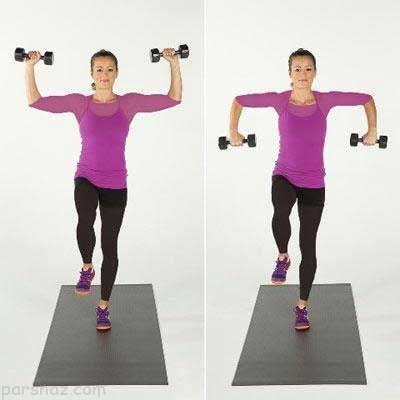 برای کاهش وزن باید عضلات خود را تقویت کنید