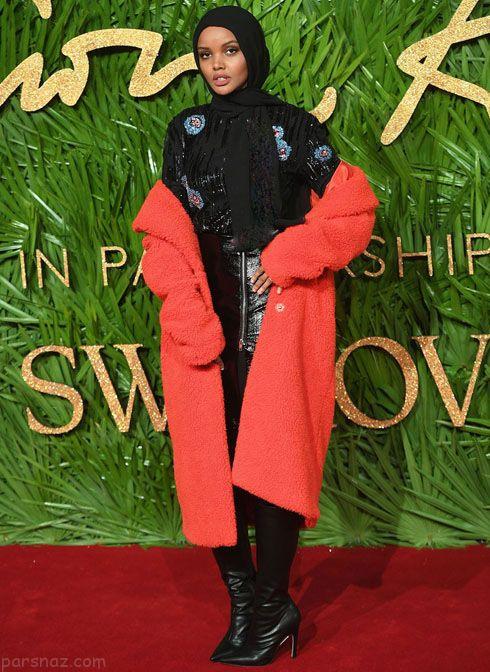 مدل لباس ستاره ها در مراسم Fashion Awards 2017