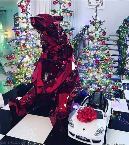نگاهی به جذاب ترین عکس های کریسمس ستاره ها