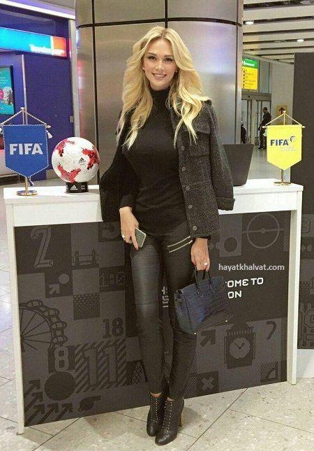تصاویر ویکتوریا لوپیروا مدل جذاب روس سفیر جام جهانی