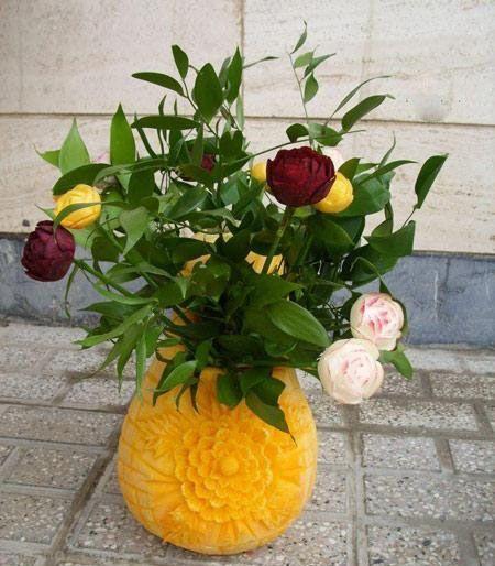 تزیینات خاص شب یلدا برای عروس خانم ها
