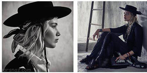 عکس های مدلینگ جنیفر لارنس برای برند دیور