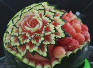 فیلم آموزشی تزیین زیبای هندوانه شب یلدا