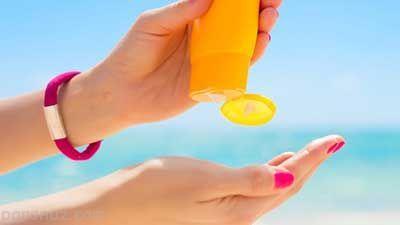 روش صحیح استفاده کردن از کرم ضد آفتاب
